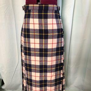 Laird-Portch of Scotland kilt skirt. Wool NWT